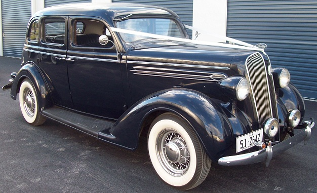 1936 Plymouth Sedan The Untouchables Wedding Cars From The