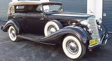 1934 Hudson Straight Eight Convertible