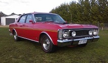 1970 XW GS Falcon (Red)